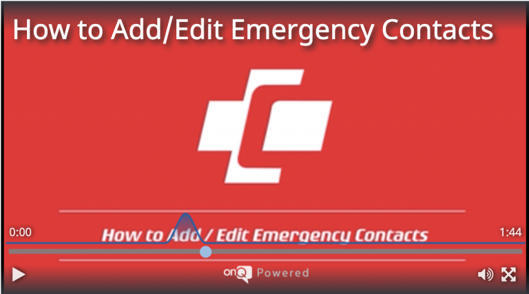 How to Add/Edit Emergency Contacts