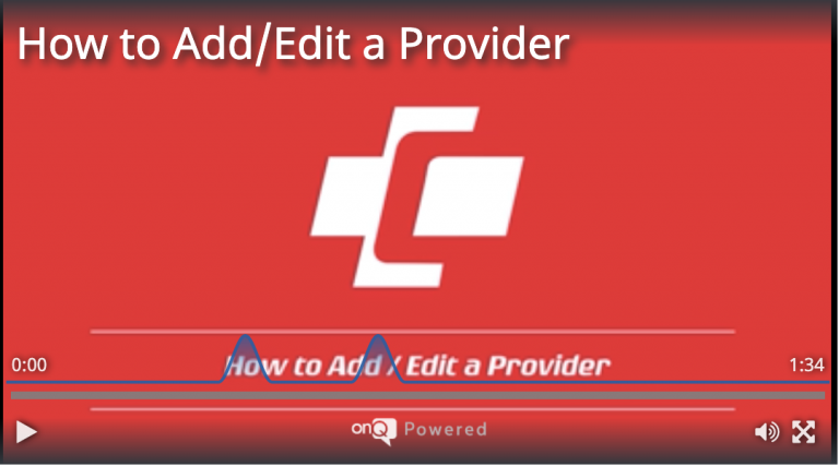 How to Add/Edit a Provider
