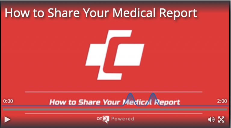 How to Share your Medical Report