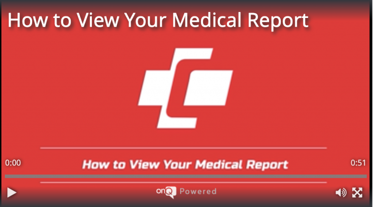 How to View your Medical Report