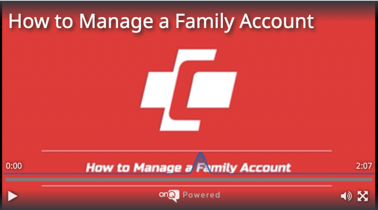 How to Manage a Family Account