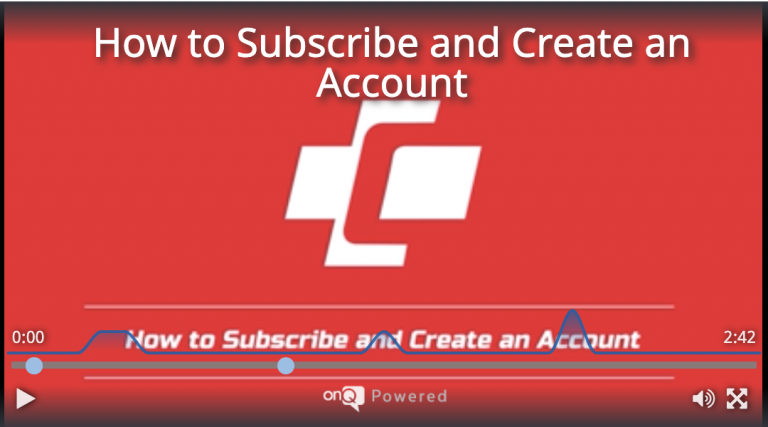 How to Subscribe and Create an Account